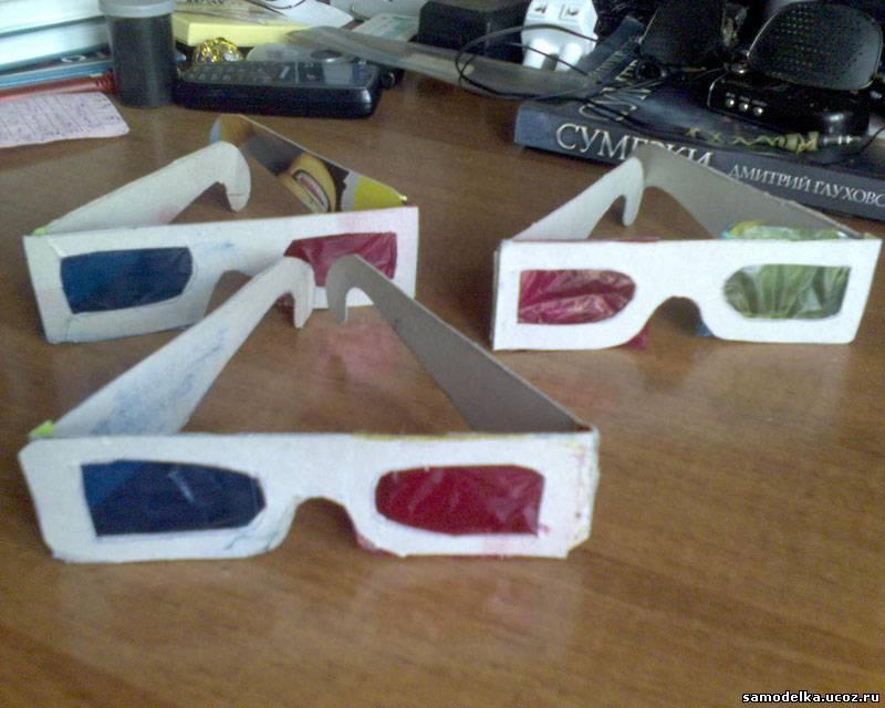 3д очки своими руками