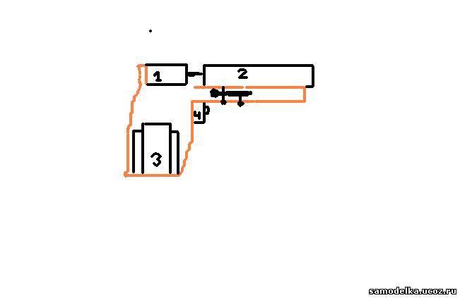 Как сделать самострел из шпингалета