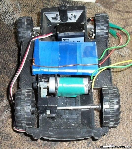 Как сделать машинку из моторов