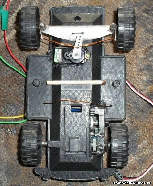 Как сделать машинку на моторчиках в домашних условиях своими руками
