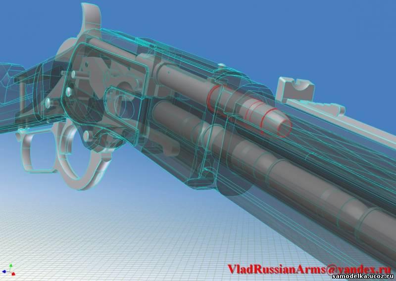 Устройство винтовки Винчестера