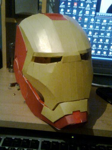 маску железного человека